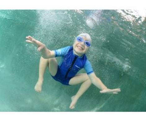 Гидрокостюм детский Cressi Caicos, 1,5 мм, синий