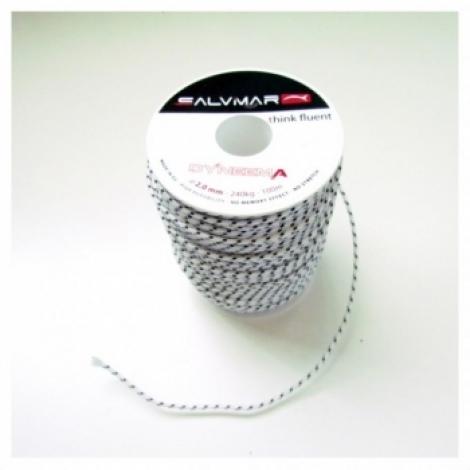 Линь SALVIMAR DYNEEMA ø 1,5 мм, 120 кг.