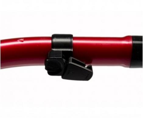 Трубка Mega Dry цвет черный силикон
