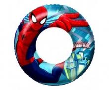 Круг для плавания надувной Спайдермен 56см