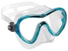 Маска Cressi SKY прозрачный силикон синяя