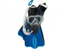 Набор Cressi маска ONDA + трубка MEXICO + ласты ELASTIC SHORT