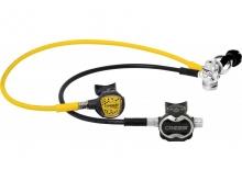 Регулятор T10 CROMO/MASTER DIN + Октопус COMPACT PRO Cressi
