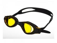 Очки для плавания Saeko LEADER черная серая
