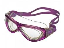 Очки для плавания Saeko MARINER прозрачные линзы, рамка - дымчатая