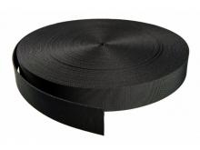 Нейлоновая лента, черная, кордура, рулон 45 метров SAEKODIVE AW01, цена за 1 метр