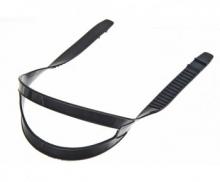 Ремешок Sargan для масок, универсальный тип 2.0, без перемычки, черный силикон
