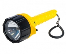 Фонарь подводный SAEKODIVE A999, желтый, Хenon, батарейка 4 х Alcoline D