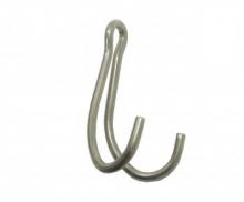 Крючок двойной для разных нужд, нерж, 9х5 см, Saecodive