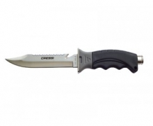 Нож Cressi BORG длина лезвия 14 см