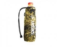 Чехол САРГАН под бутылку 0.5-0.6 л, камуфлированный неопрен RD2.0 5мм, на затяжке