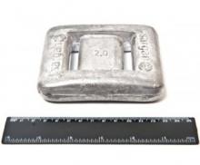 Груз САР 2 кг без покрытия