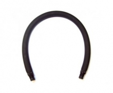 Тяги латекс SARGAN черные D18 мм, (кольцевая) длина 45 см